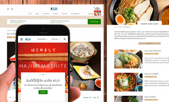 Kiji Restaurent Website