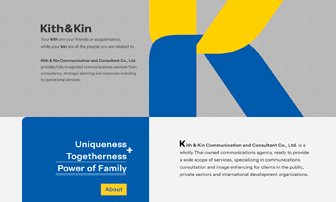 Kith and Kin Website